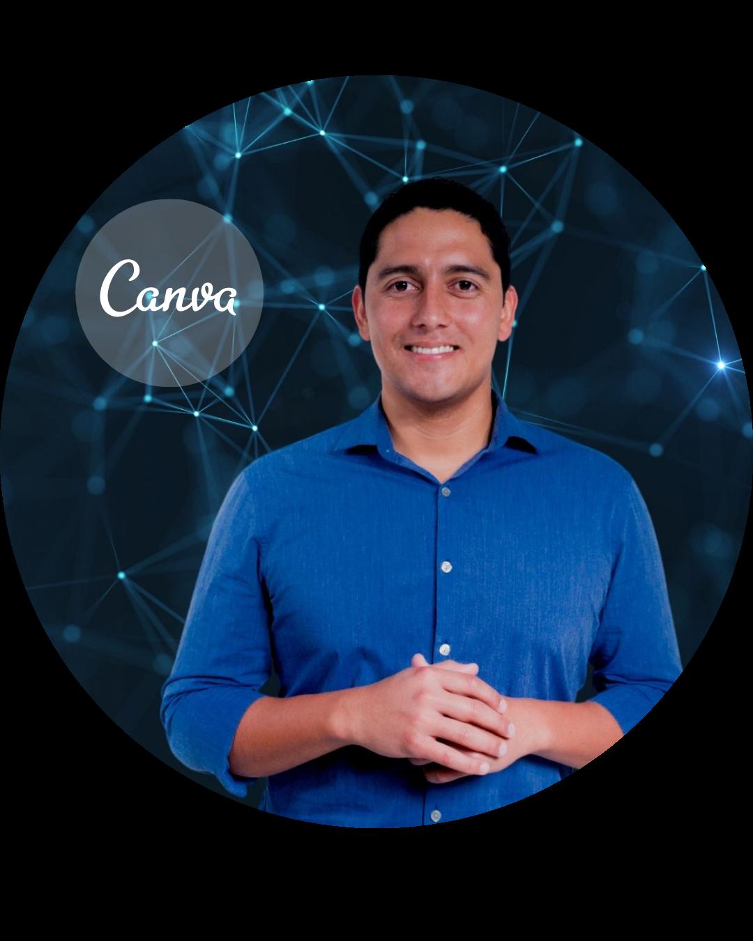 Profesor experto en Canva